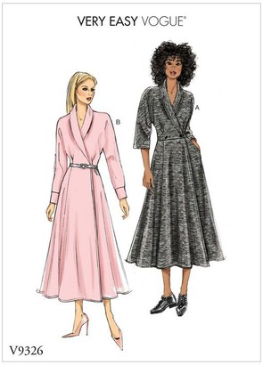 Vogue Women's Very Easy Dress Sewing Pattern, 9326