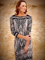 M&Co Paisley print border tunic dress