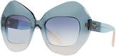 Dolce & Gabbana DG4290 Pentagonal Sunglasses, Blue Gradient