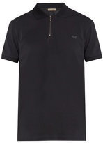 Bottega Veneta Logo-embroidered Cotton-piqué Polo Shirt