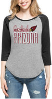 '47 Women's Arizona Cardinals Club Block Raglan T-Shirt
