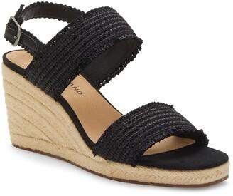 Lucky Brand Minjah Wedge Platform Sandal