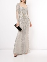 Thumbnail for your product : ZUHAIR MURAD Sequin-Embellished Fishtail Gown