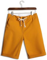 Meiruian Mens Shorts Cotton Sports Training Summer Pants Solid Color Size M-5XL