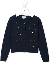 Paul Smith embroidered dots cardigan