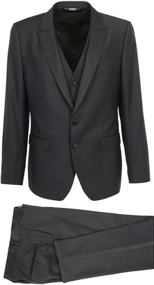 Dolce & Gabbana Three-Piece Tuxedo Suit