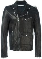 Golden Goose Deluxe Brand biker jacket - men - Goat Skin/Cupro/Viscose - L