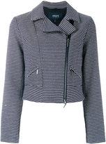 Armani Jeans zipped jacket - women - Cotton/Polyester - 38