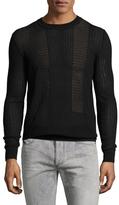 Diesel Black Gold Krambol Cotton Sweater