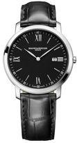 Baume & Mercier Classima 10098 Stainless Steel & Alligator Strap Watch