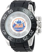 Game Time Men's MLB-BEA-NYM Beast Round Analog Watch