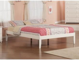 Andover MillsTM Mackenzie Solid Wood Platform Bed Andover Mills Color: Caramel Latte, Size: Queen