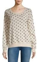 Polka Dot Cotton Sweater