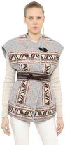 Isabel Marant Wool Blend Jacquard Vest