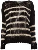 Saint Laurent open knit sweater
