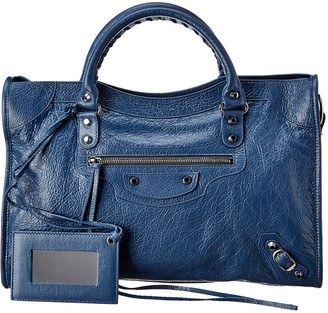 Balenciaga Classic City Arena Leather Shoulder Bag
