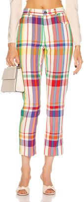 Area Crystal 5 Pocket Pant in Rainbow | FWRD
