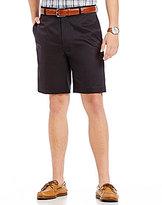 Daniel Cremieux Signature Flat-Front Microfiber Shorts