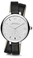 Marc by Marc Jacobs Marc Jacobs Women's Sally Black Leather Watch - MJ1419