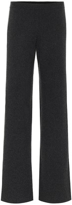 Loro Piana Lexington mid-rise cashmere pants