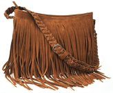 Ayliss® Hippie Suede Fringe Tassel Messenger Bag Women Hobo Shoulder Bags Crossbody Handbag