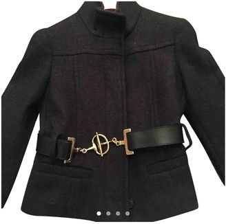 Gucci Grey Cashmere Jackets