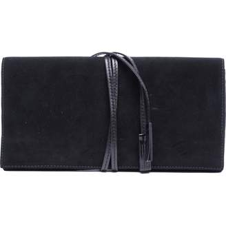 Saint Laurent \N Black Suede Clutch bags
