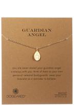 Dogeared 14K Gold Plated Sterling Silver My Guardian Angel Bracelet