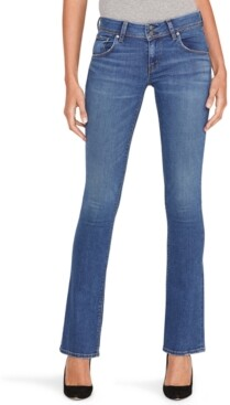 Hudson Mid-Rise Baby Bootcut Jeans