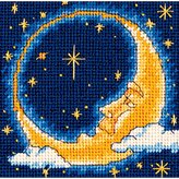 Dimensions Needlecrafts Needlepoint, Moon Dreamer