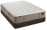 """Stearns & Foster Scarborough Luxury Mattress with 9"""" Flat Foundation (Plush)"""