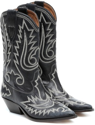 Isabel Marant Duerto suede cowboy boots