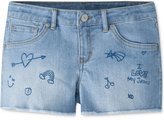 Levi's Doodle Patches Shorty Shorts, Toddler & Little Girls (2T-6X)