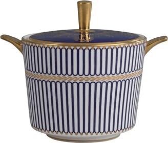 Wedgwood Anthemion Blue Sugar Bowl (200Ml)