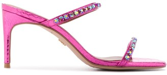 Kurt Geiger Priya embellished sandals