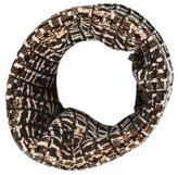Oscar de la Renta Metallic-Embellished Infinity Scarf