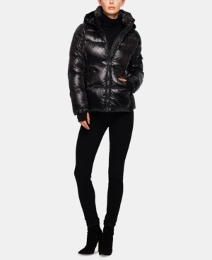 S13 Kylie Hooded Puffer Coat