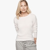 James Perse Cashmere Thermal Crew Neck
