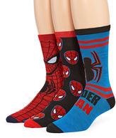Marvel Spiderman 3-pk. Crew Socks