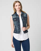 Le Château Stretch Denim Vest