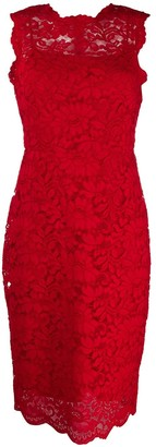 Polo Ralph Lauren Sleeveless Scalloped Lace Dress