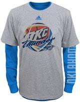 adidas Boys 4-7 Oklahoma City Thunder Cager Tee Set