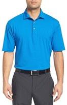 Bobby Jones 'Liquid Cotton Skyline' Stripe Jersey Golf Polo