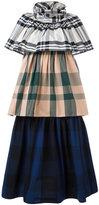 Sofie D'hoore multi checked dress - women - Cotton - 38