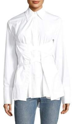 Helmut Lang Cotton Button-Down Shirt