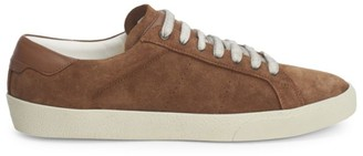 Saint Laurent Suede Low Top Sneakers