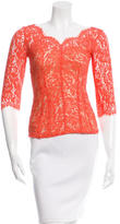 Lover Lace Peplum Top
