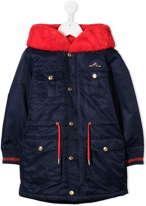 The Marc Jacobs Kids Two-Tone Padded Jacket