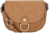 Monsoon Rosa Ring Detail Saddle Bag