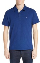 Rag & Bone Men's Standard Issue Regular Fit Slub Cotton Polo